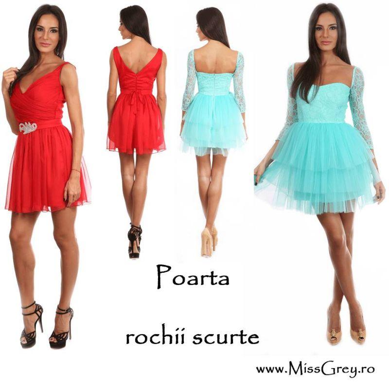 Doua tipuri de rochii la moda: rochii scurte (Partea 2)