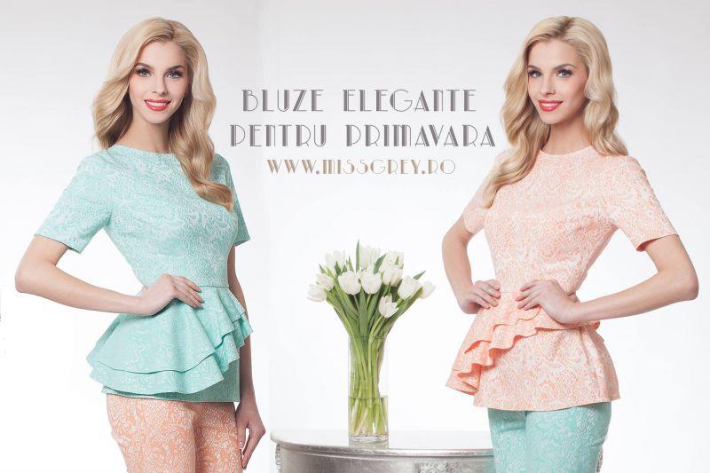 Bluze elegante de dama pentru outfit-uri de primavara
