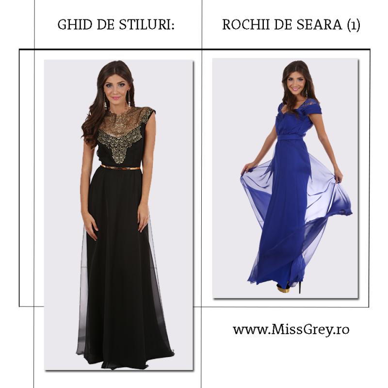 Ghidul de stiluri al rochiilor de seara (Partea 1)