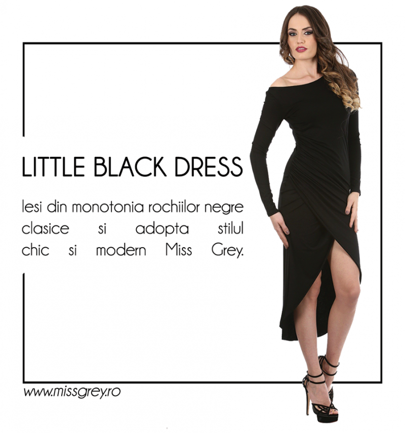 Little Black Dress: o reinventare in stil Miss Grey