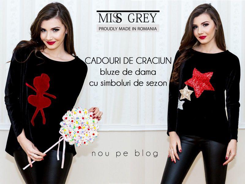 Cadouri de Craciun: bluze chic de dama pentru momente de neuitat