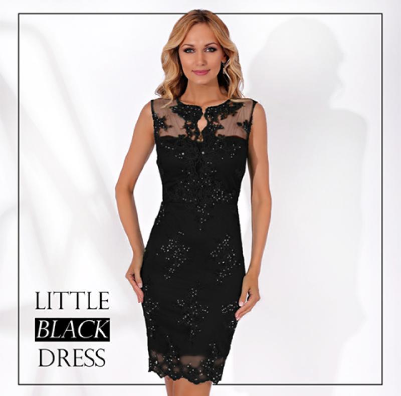 Cum sa porti rochiile negre elegante, pentru aparitii de invidiat?