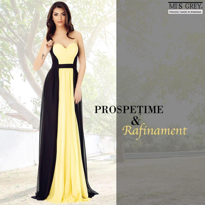 Povestea rochiilor elegante colorate