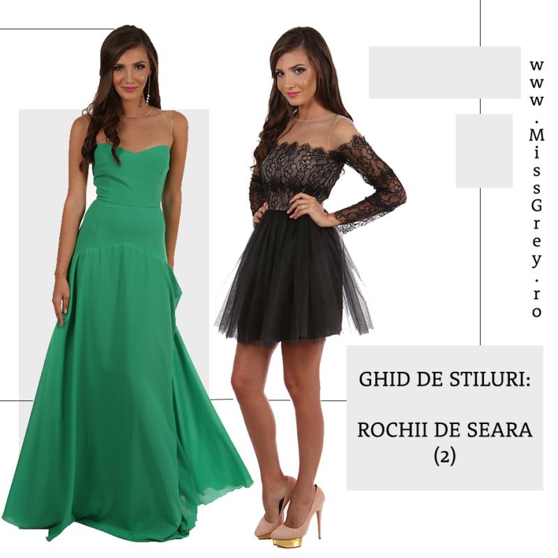 Ghidul de stiluri al rochiilor de seara (Partea a 2-a)