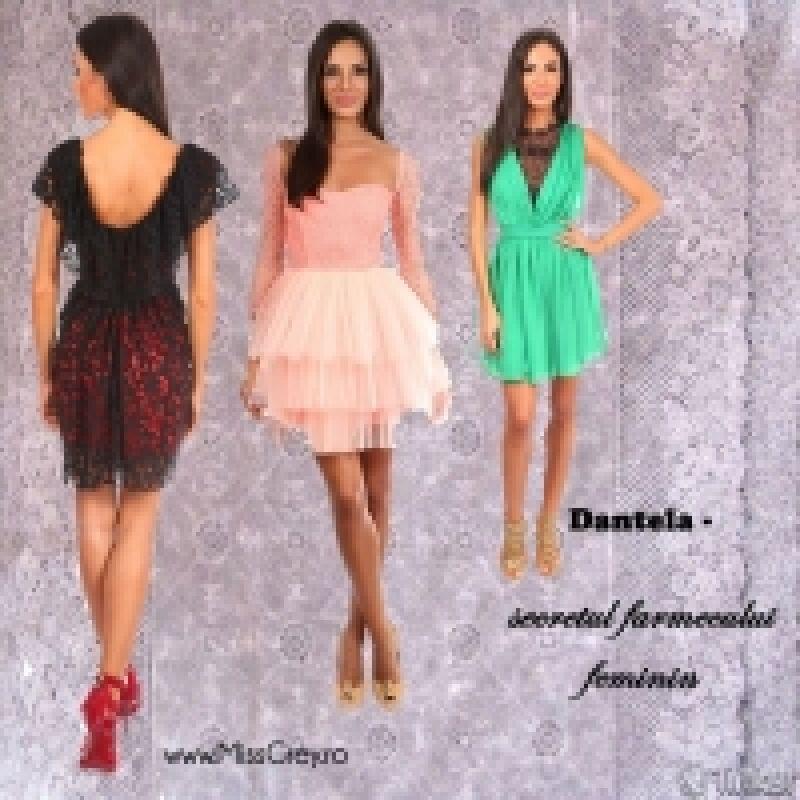 Secretul farmecului feminin: rochiile din dantela si detaliile
