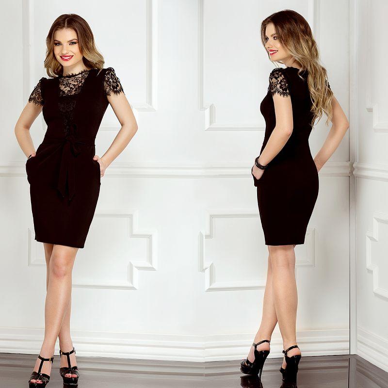 Rochiile negre elegante: accesoriul vestimentar indispensabil din garderoba feminina