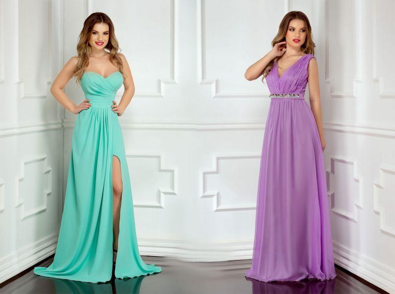 Rochii lungi de seara elegante la moda in aceasta primavara