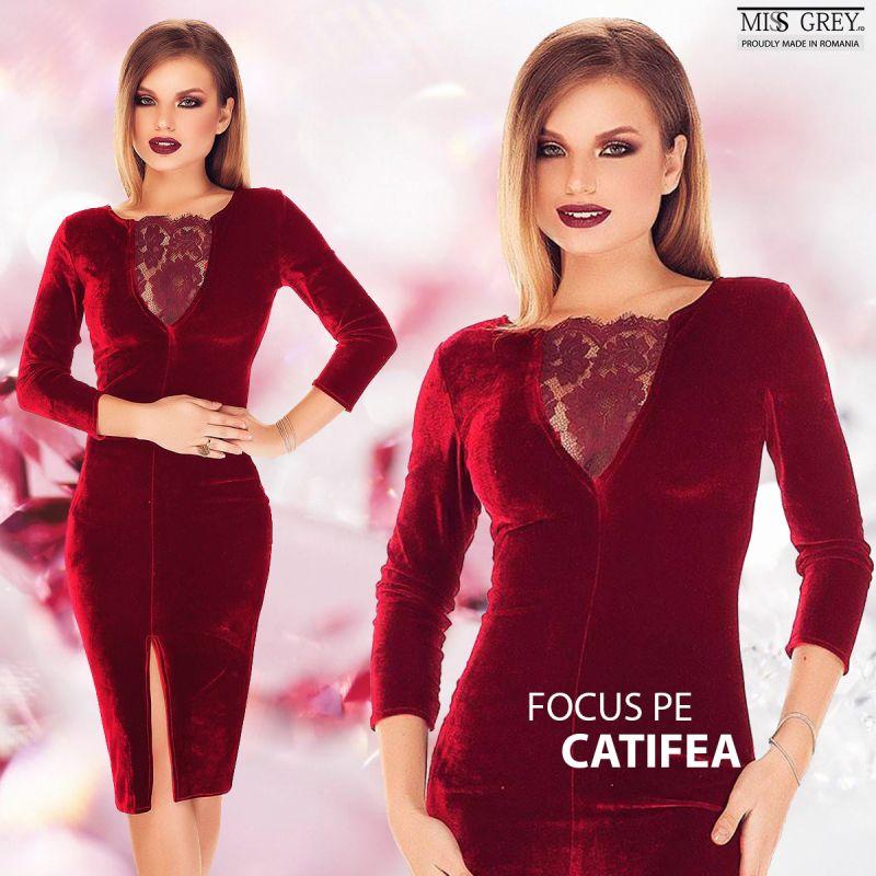 Cum sa porti cu stil rochii de seara din catifea