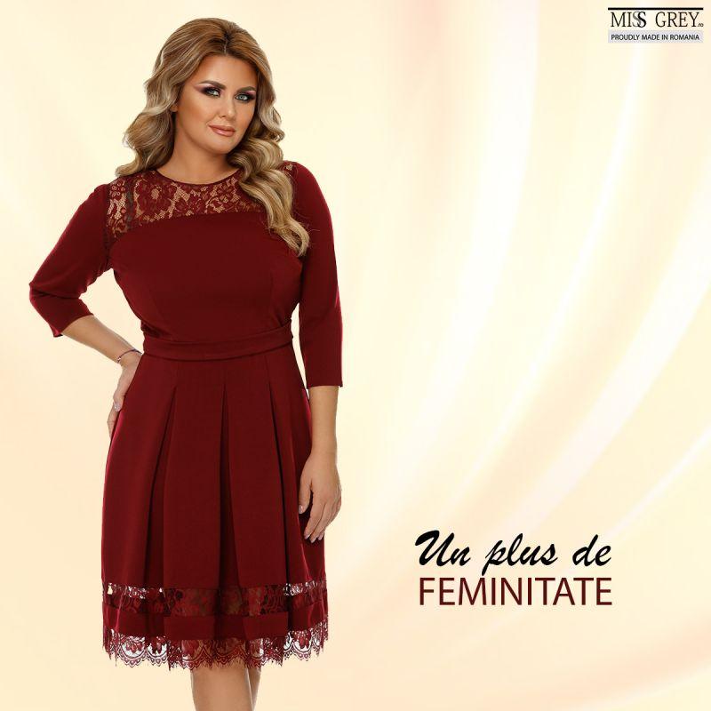 Profita de noile rochii elegante XXL pentru un sezon toamna-iarna fabulos