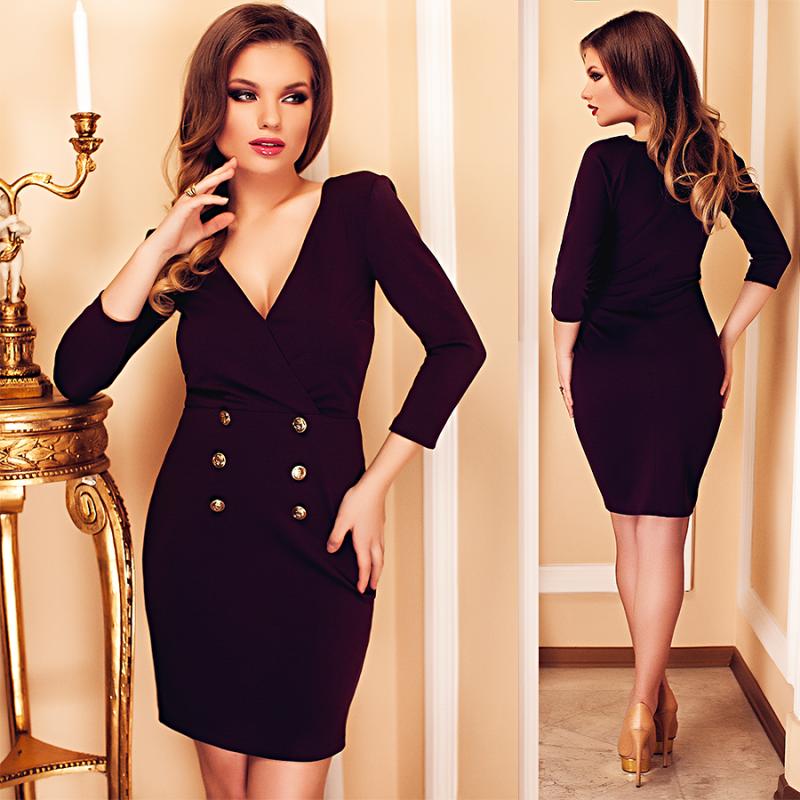 Promotie: rochii elegante marsala la preturi avantajoase