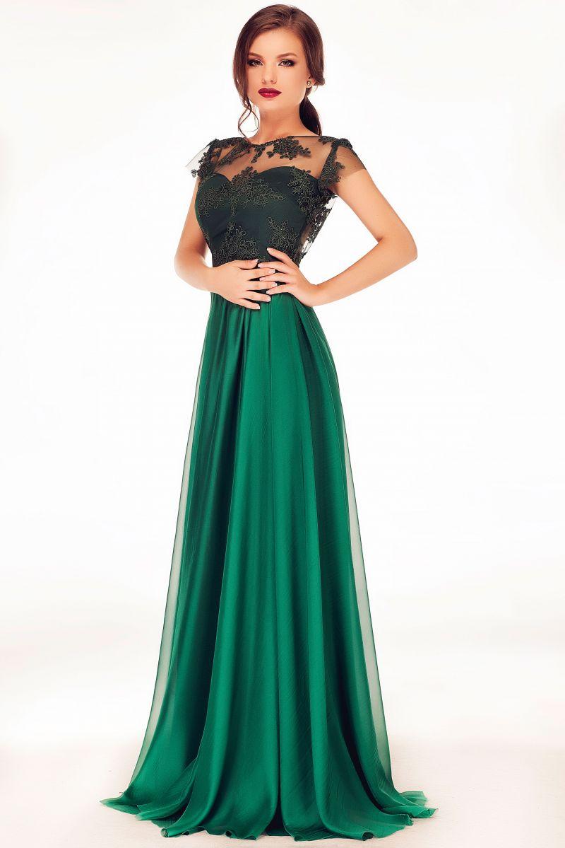 rochie-de-seara-verde-lunga