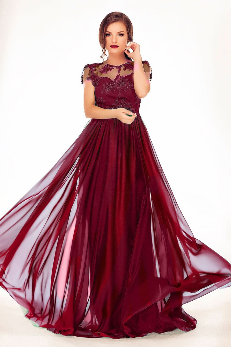 rochie lunga de nunta sau de nasa