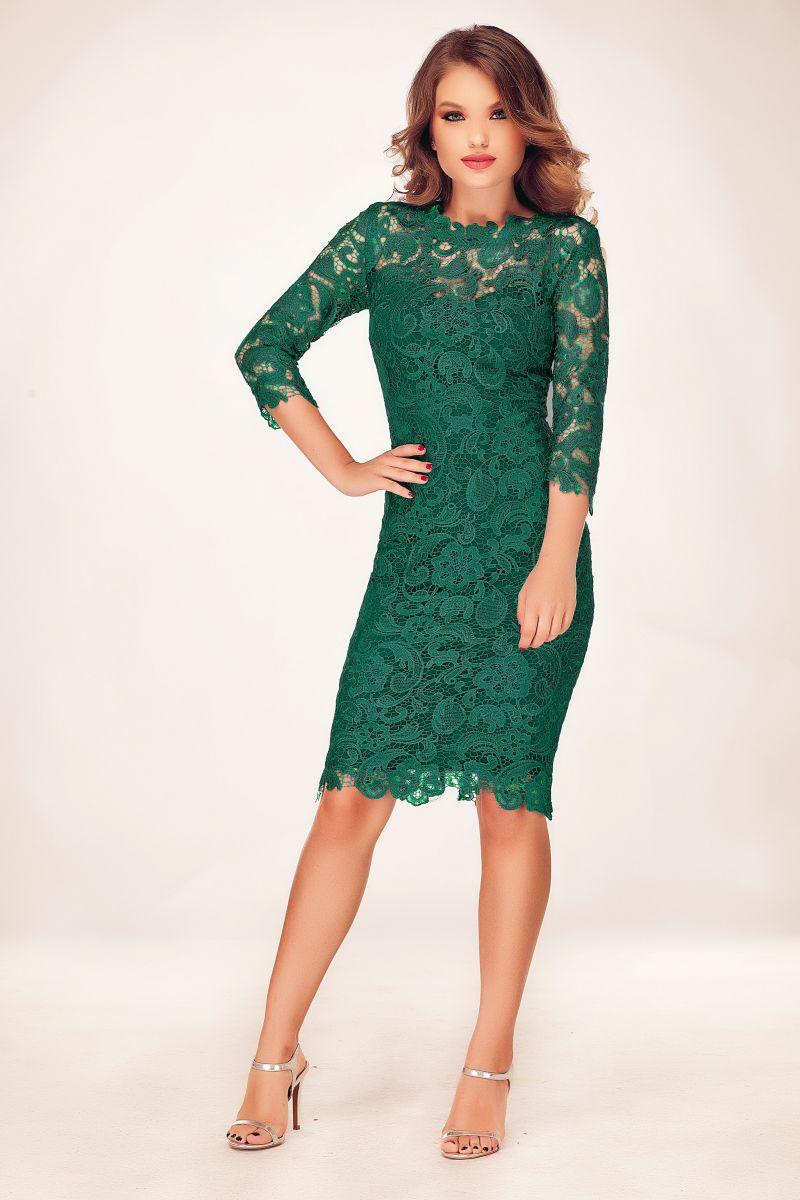 rochie-de-seara-verde-scurta
