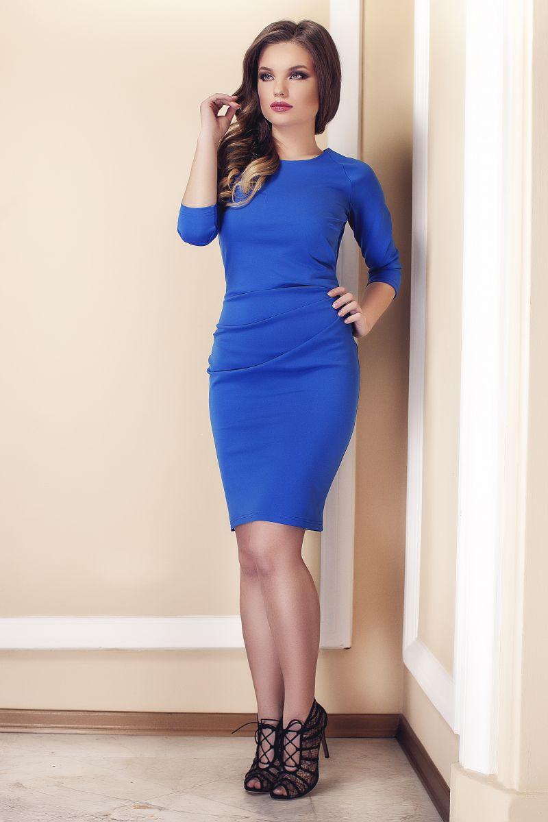 rochie-de-zi-simpla-albastra