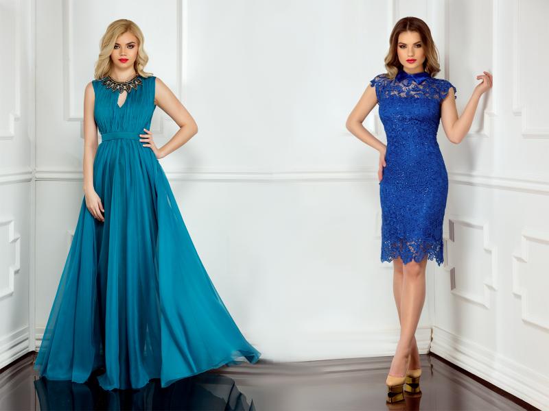 Rochii de seara albastre pentru toate preferintele