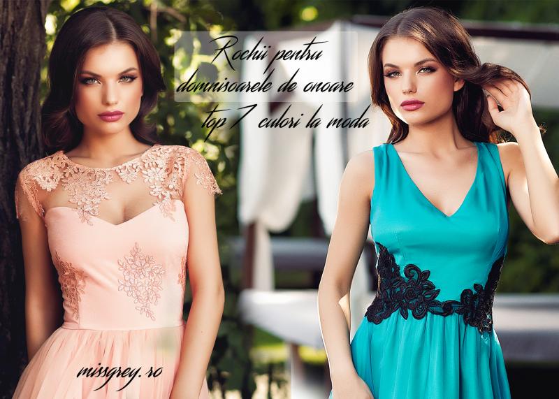 Top 7 culori pentru rochiile de domnisoara de onoare, la moda in 2015