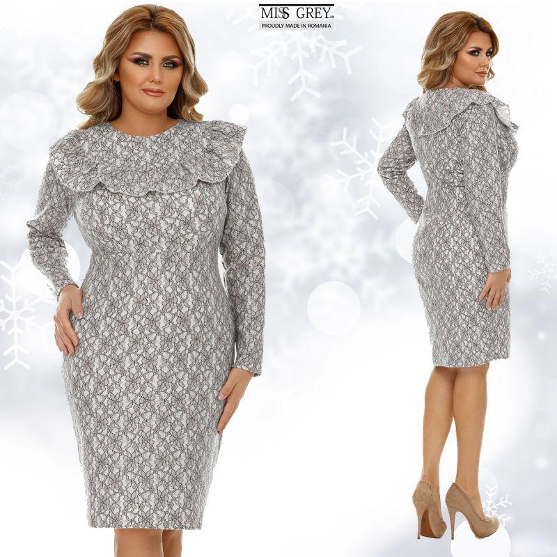 Infrunta iarna cu eleganta purtand cele mai frumoase rochii inflorate