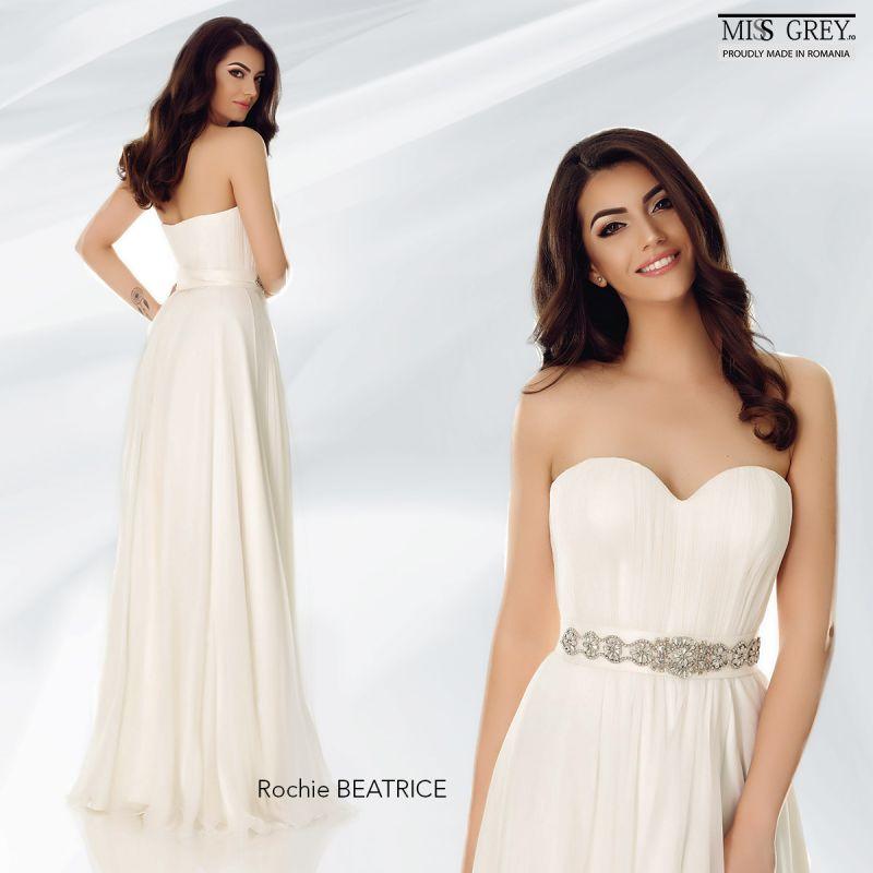 Povestea nuntii perfecte incepe cu alegerea unei rochii de mireasa tip printesa