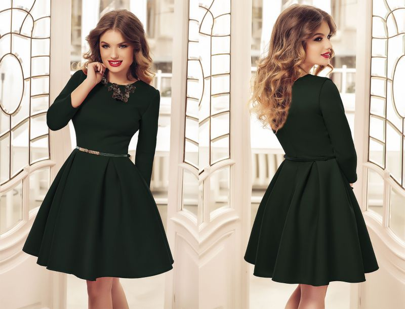 Eleganta vivanta a rochiilor verzi