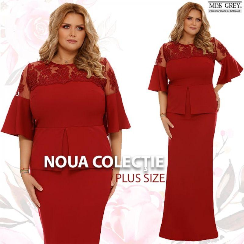Noua colectie de rochii plus size surprinde prin distinctie si culoare