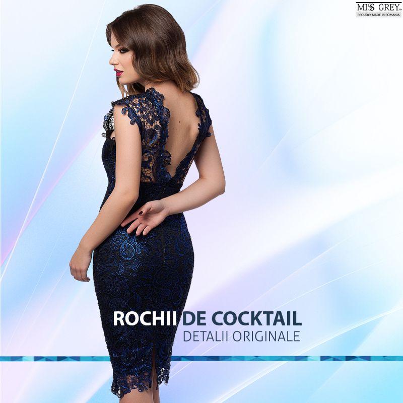 Rochii cocktail cu spatele gol? Solutia primaverii perfecte!