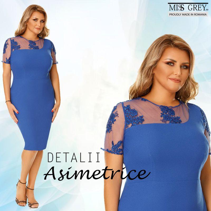 Ce fel de asimetrie se potriveste unor rochii pentru femei plinute?