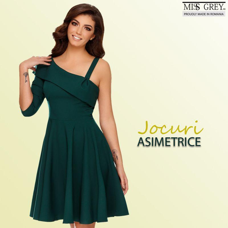 Inedit si culoare in noua colectie de rochii de toamna Miss Grey