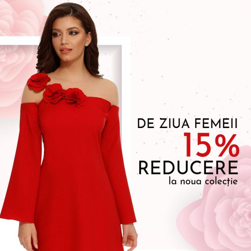 Poarta rochii rosii de 8 Martie