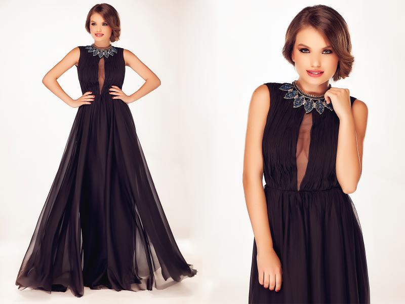 Cum sa porti rochia lunga neagra la ocaziile speciale?