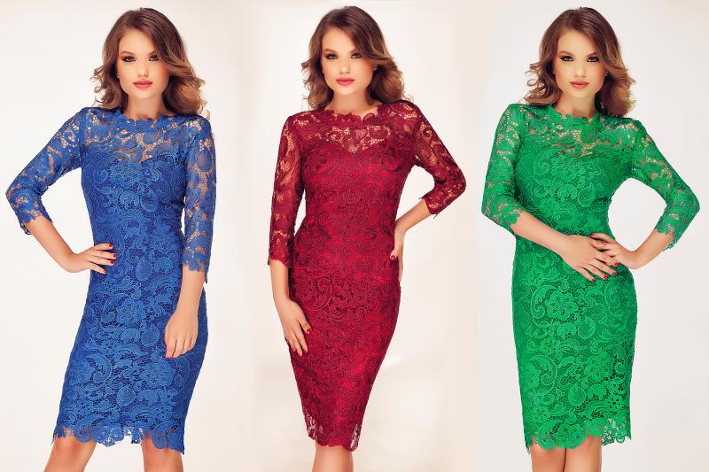 Rochiile elegante din dantela Noelle – armonia de care ai nevoie