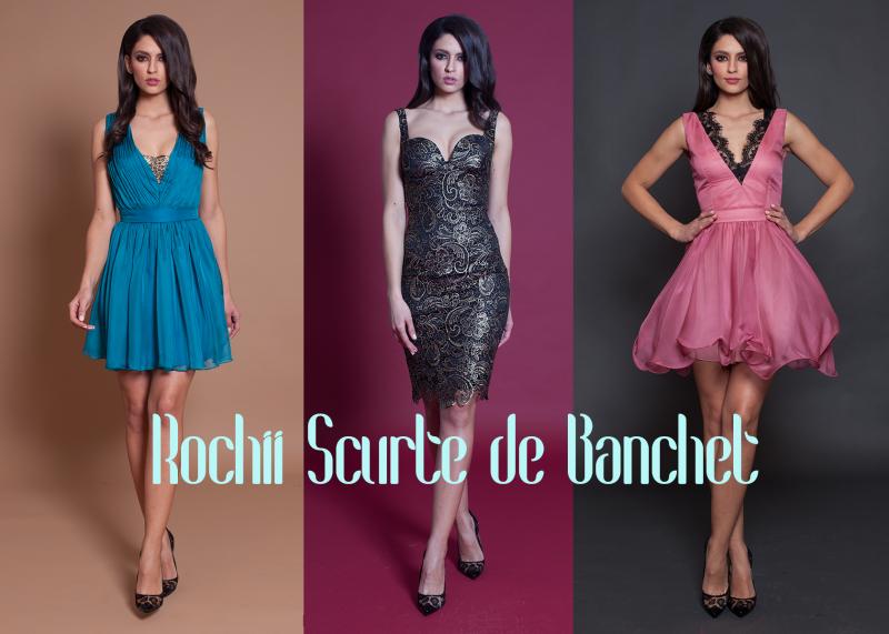 Rochii scurte de banchet: cele mai frumoase modele