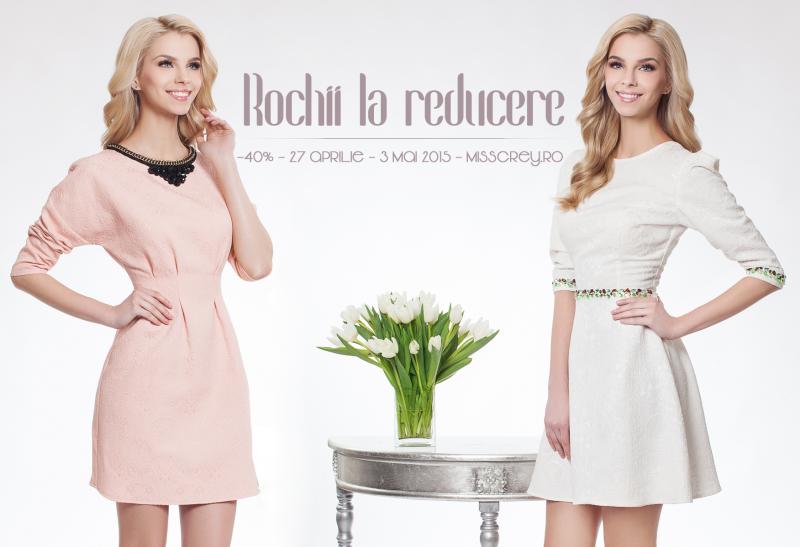 Rochii scurte la reducere - pentru garderoba ta de sezon
