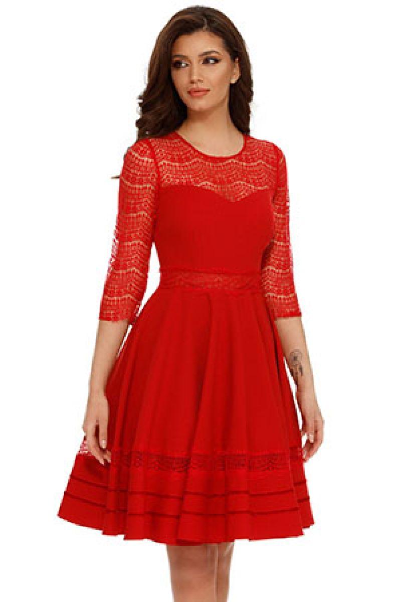 rochie lorena rosie