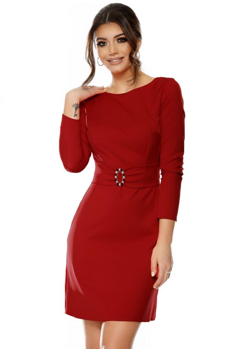 rochie Luisa rosie