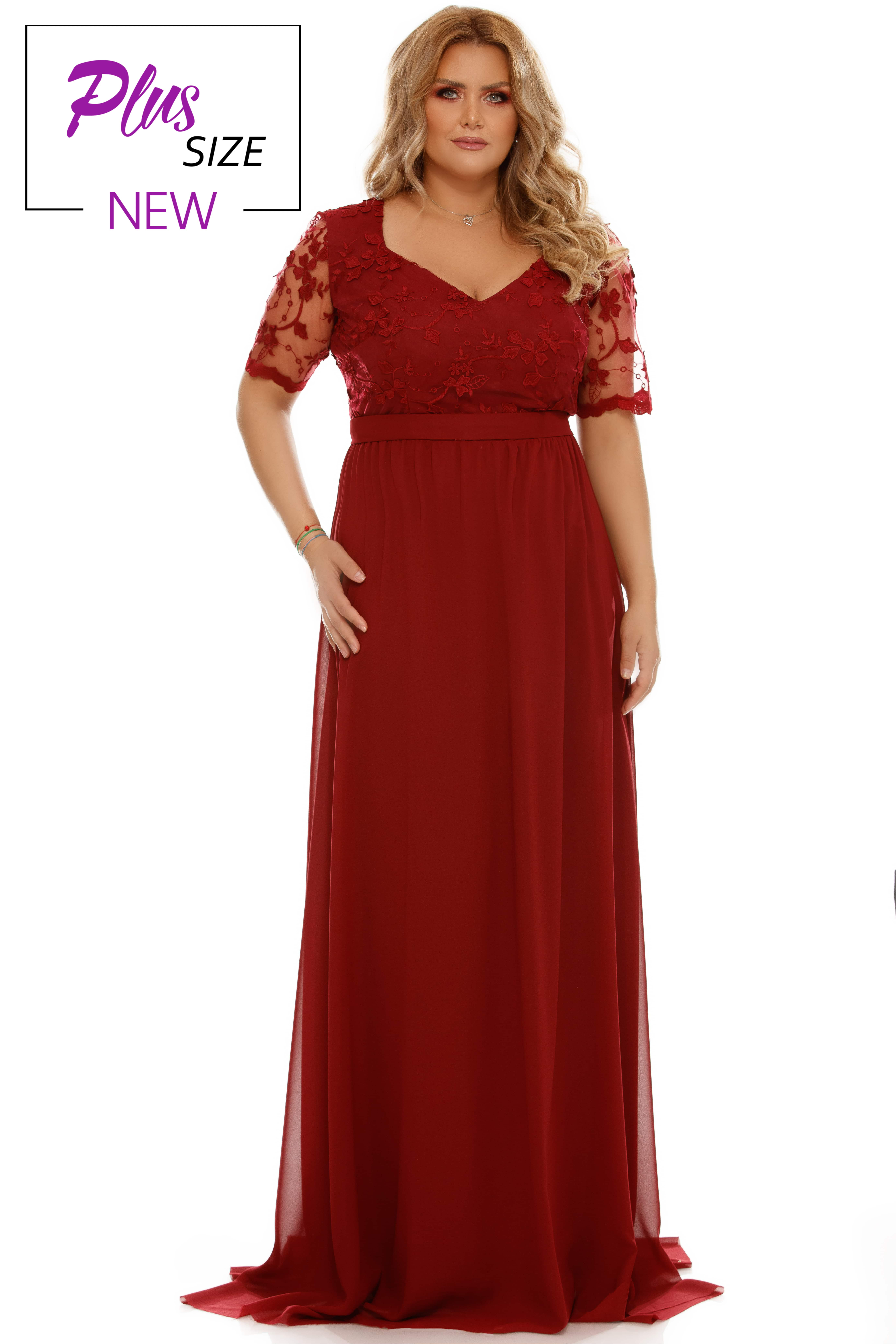 Rochie Plus Size Deborah Bordo