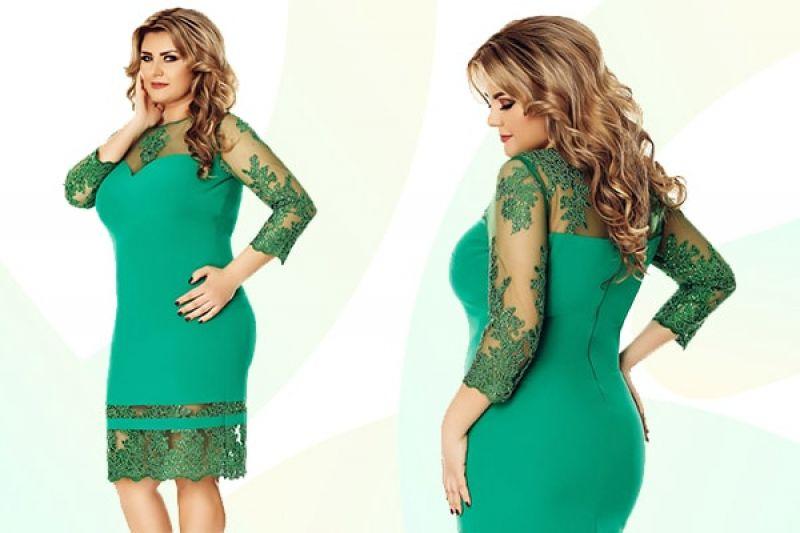 rochie verde Gratiela