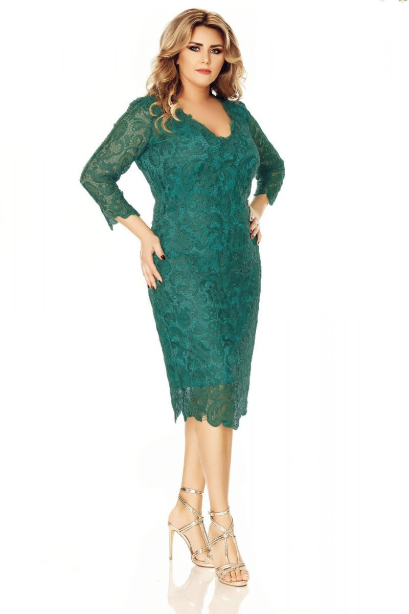 rochie-plus-size-arella-verde
