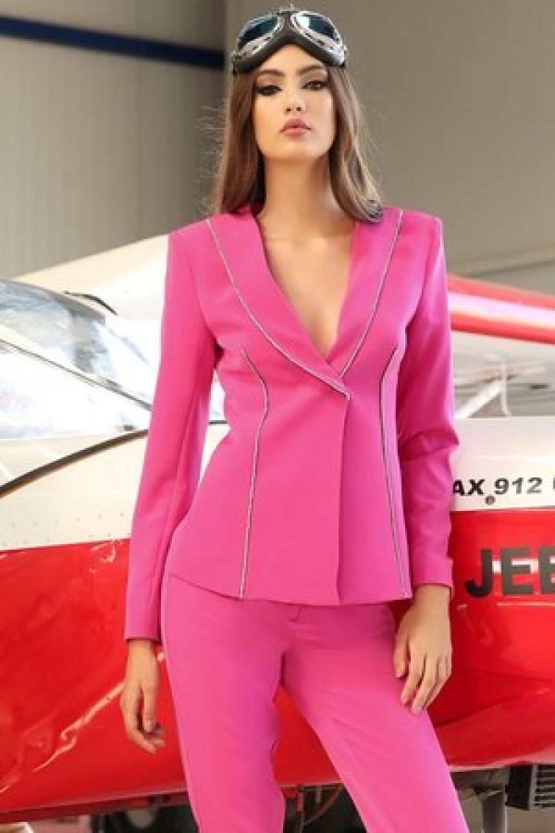 Costum fucsia Valentine Day